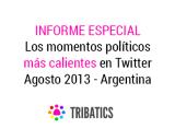 Los momentos políticos más impactantes en Twitter – Agosto2013