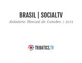 Relatório #SocialTV Outubro